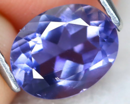 Iolite 1.60Ct VS2 Oval Cut Natural Purplish Blue Color Iolite A1008