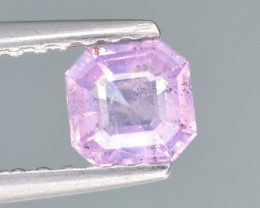 Natural Pink Sapphire 0.42 Cts from Afghanistan