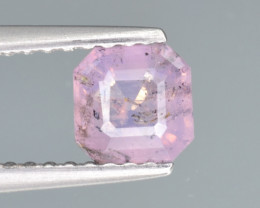 Natural Pink Sapphire 0.69 Cts from Afghanistan