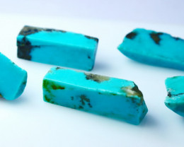 83.50 CT Natural - Unheated Green Turquosie Rough Lot