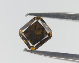0.09 CTS , Symetrical Diamond , Natural Cushion Cut