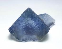 Amazing Natural color Damage free Fluorite specimen 88Cts-Pak