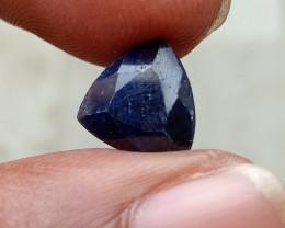 SAPPHIRE BLUE FACETED GEMSTONE GENUINE VA3802