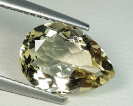 2.99 ct Top Quality Beautiful Pear Cut Natural Scapolite