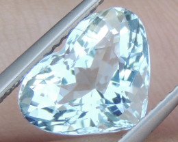 3.08cts  Aquamarine,   Clean, Unheated