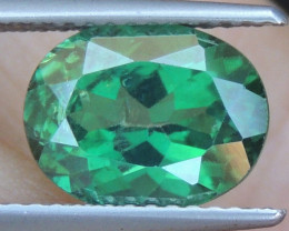3.29cts, Green Topaz,