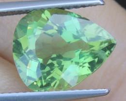 4.87cts Green Apatite,
