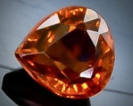 0.57 Crt  Spessartite Garnet Faceted Gemstone (Rk-91)