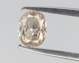 0.12 cts , Slight Champagne Diamond  , Fancy Shape Diamond