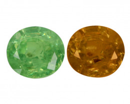 0.75 Cts Untreated Color Changing Natural Demantoid Garnet Gemstone