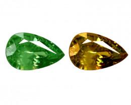 1.21 Cts Untreated Color Changing Natural Demantoid Garnet Gemstone