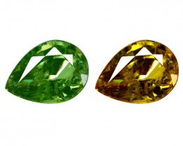 1.02 Cts Untreated Color Changing Natural Demantoid Garnet Gemstone