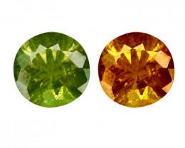 0.88 Cts Untreated Color Changing Natural Demantoid Garnet Gemstone