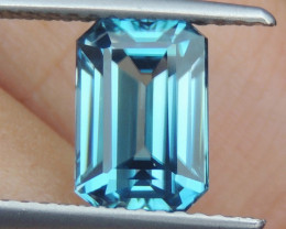 3.10cts, Natural Blue Zircon