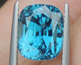 7.05cts, Natural Blue Zircon