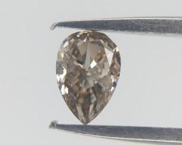 0.14 CTS , Pear Diamond , Rare Color Diamond