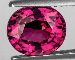 9x8 mm Oval 2.70cts Pink Rhodolite Garnet [VVS]