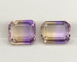 5.70 Carats Ametrine Gemstones