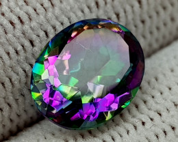 2.35CT MYSTIC QUARTZ BEST QUALITY GEMSTONE IIGC019