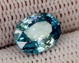 2.55CT BLUE ZIRCON BEST QUALITY GEMSTONE IIGC019