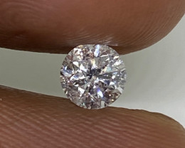 (C) Certified $1090 Fiery 0.52cts SI2 White Round Loose Natural Diamond