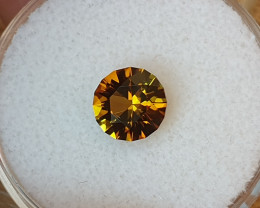 1,22ct Bicoloured Sunset Tourmaline - Master cut!