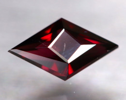 Red Spinel 0.88Ct VVS Master Cut Natural Titanium Red Spinel AT1045