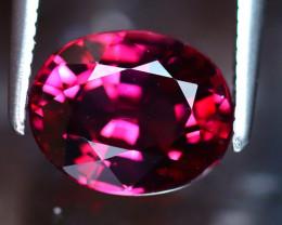 Rhodolite 2.50Ct Natural Purplish Red Rhodolite Garnet EF1317/A5