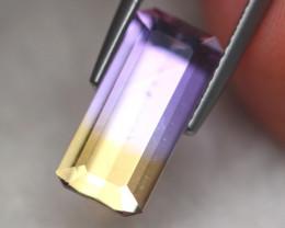 2.89Ct Natural Bi Color Ametrine Octagon Cut Lot LZ6945