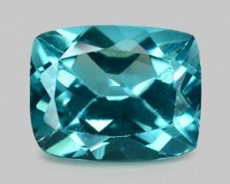 Apatite 2.44 Cts Un Heated Natural Greenish Blue Loose Gemstone