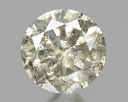 0.11 Cts Untreated Fancy Champagne Natural Loose Diamond