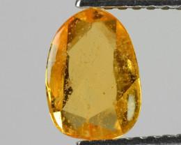 0.94 Carat Fancy Orange Color Sapphire Loose Gemstone