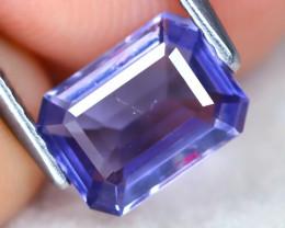 Iolite 1.23Ct Octogon Cut Natural Purplish Blue Color Iolite A1116