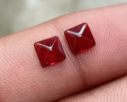 Fancy Cut Natural Garnet Pair Natural+Untreated VA3825