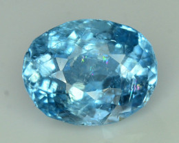 Top Grade 6.45 ct Attractive Color Aquamarine