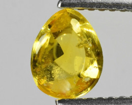 1.09 Carat Very Rare Yellow Color Natural Sapphire Loose Gemstones