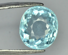 Certified Top Grade 9.03 ct Attractive Color Aquamarine~K