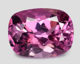 1.91 Cts Untreated Pink Color Natural Malaya Garnet Gemstone