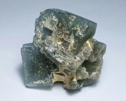 Amazing Natural color Damage free Fluorite cluster  specimen 271Cts-P