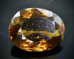6.04 Crt Conic Quartz  Faceted Gemstone (Rk-92)