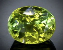1.02 Crt Peridot  Faceted Gemstone (Rk-92)