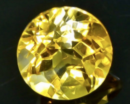 3.49 Crt  Citrine Faceted Gemstone (Rk-92)