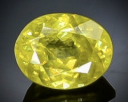 0.83 Crt Sphene  Faceted Gemstone (Rk-92)
