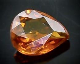 0.51 Crt  Spessartite Garnet Faceted Gemstone (Rk-92)