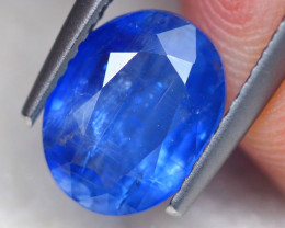 2.31Ct Natural Blue Kyanite Oval Cut Lot V7809
