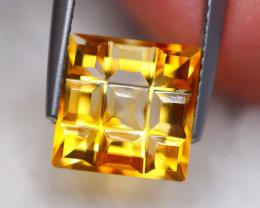 3.18ct Natural Yellow Citrine Fancy Cut Lot V8010