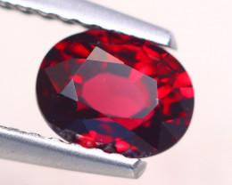 0.93Ct Natural Red Garnet Oval Cut Lot B2481