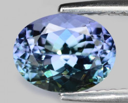 1.91 Cts Amazing rare Violet Blue Color Natural Tanzanite Gemstone