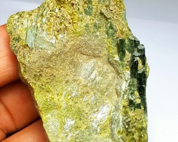 Amazing Damage free Natural color Diposite combine with Epidote 325Cts-A