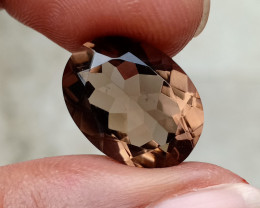 A+++ QUALITY SMOKY QUARTZ GEMSTONE NATURAL+UNTREATED VA3888